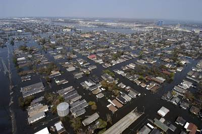 Flooded New Orleans
