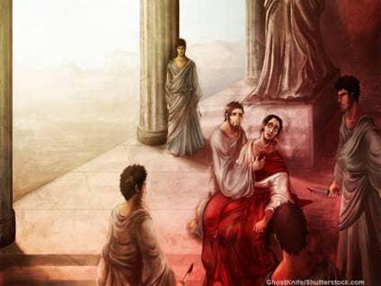 Brutus Betrayed Ceaser