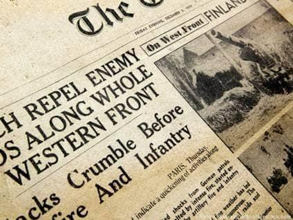 Newspaper germany Robyn Mackenzie