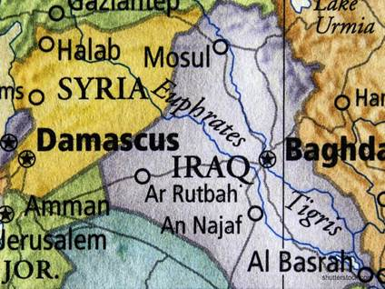 ISIS Map Syria Iraq