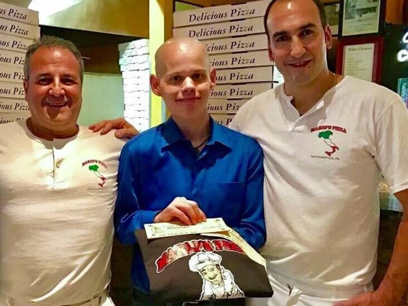pizza shop donation