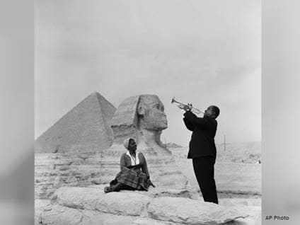 Louis Armstrong Giza
