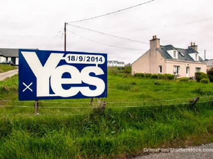 Vote Yes Scottish Independence