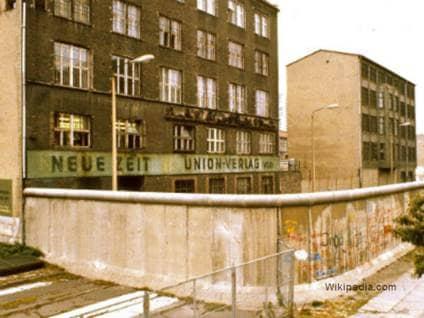 Around Berlin Wall