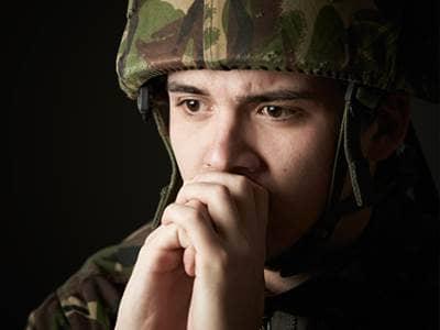 Sad Soldier