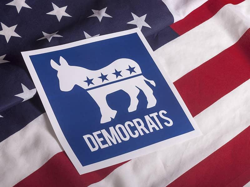 DemocratAmericanFlag