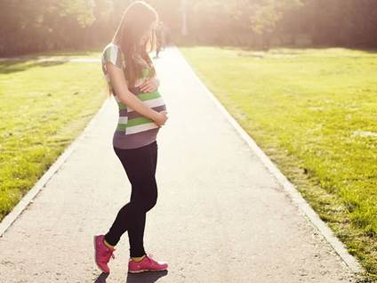 Pregnant Women Working Out