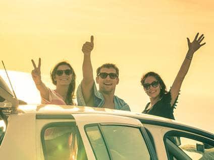 travel friends summer