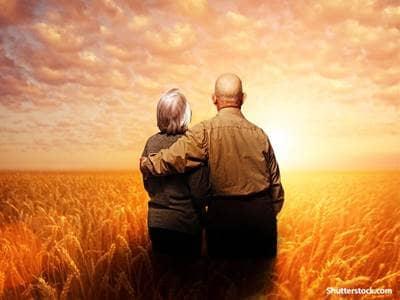 people elder couple thinking