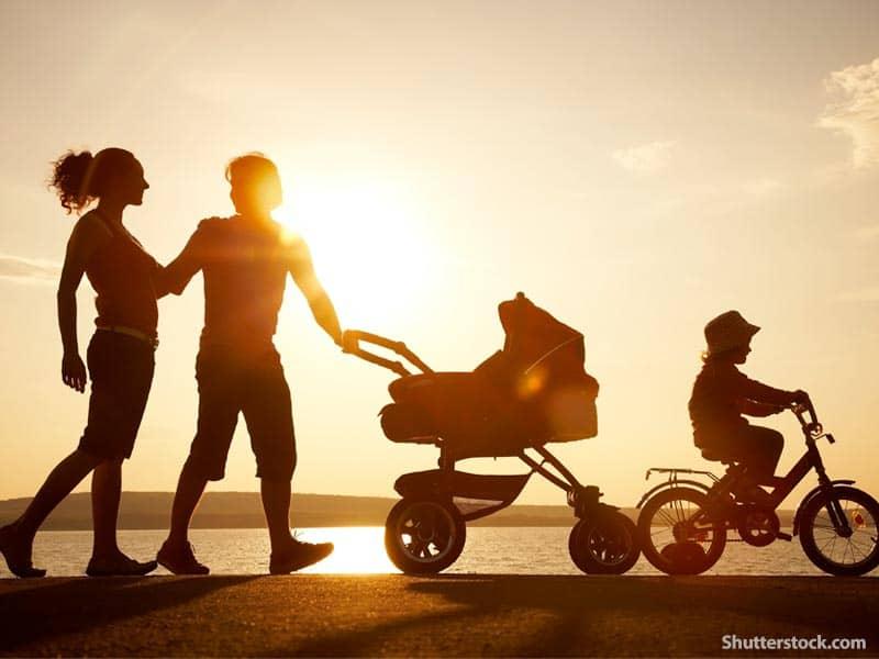 people family beach