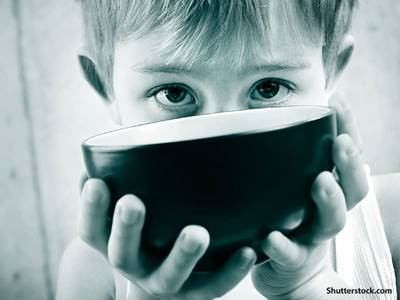 people hungry child