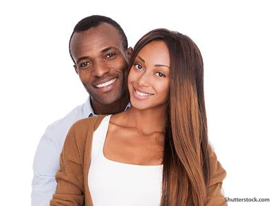 people african american couple