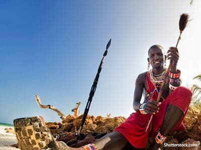 people african man