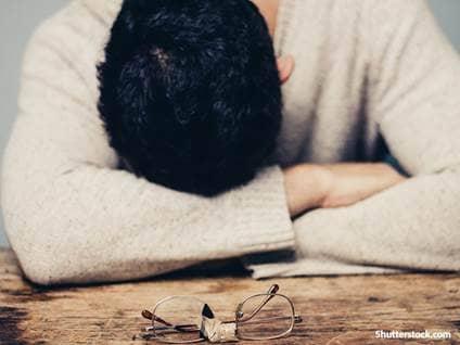 people sad lonely man