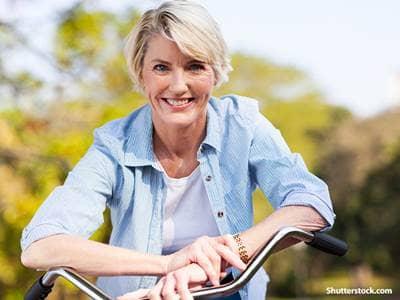 people woman bike