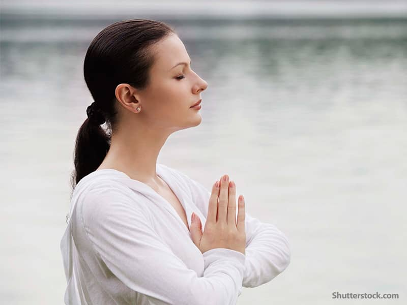 Spiritual Woman Meditation
