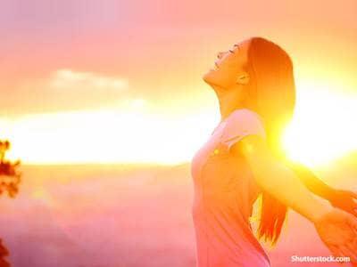 spiritual woman praise