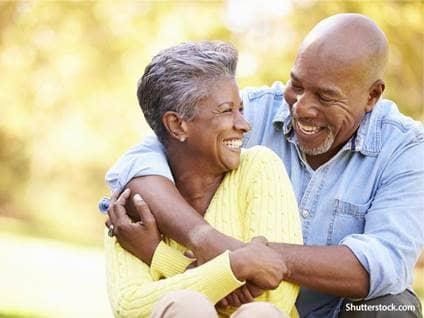 people elder couple in love