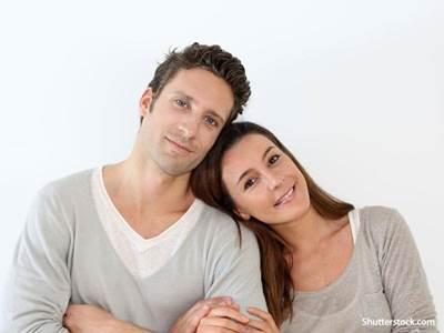 people happy couple