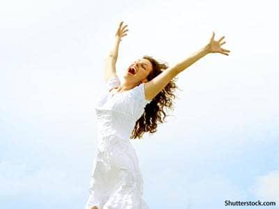people happy woman joy