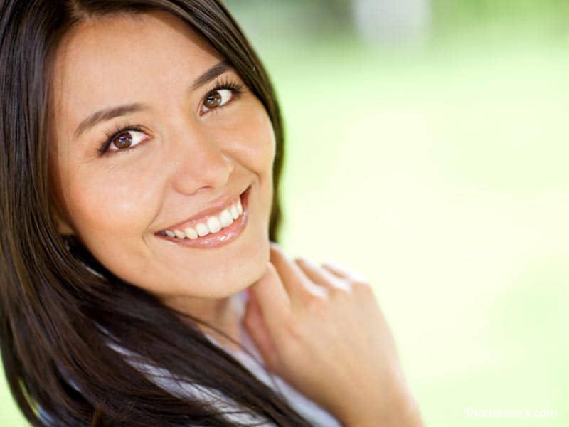 people woman smiling
