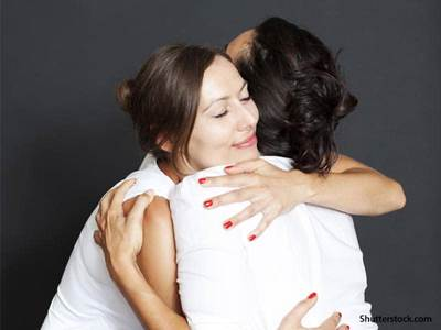 people women hugging