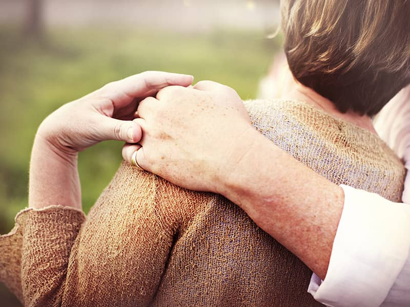 couple woman hug marriage