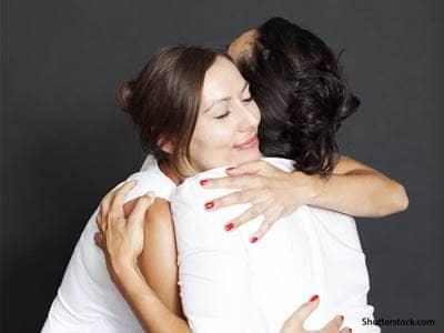 people women hugging