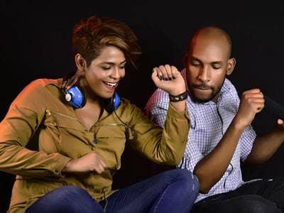 Couple Music Dancing