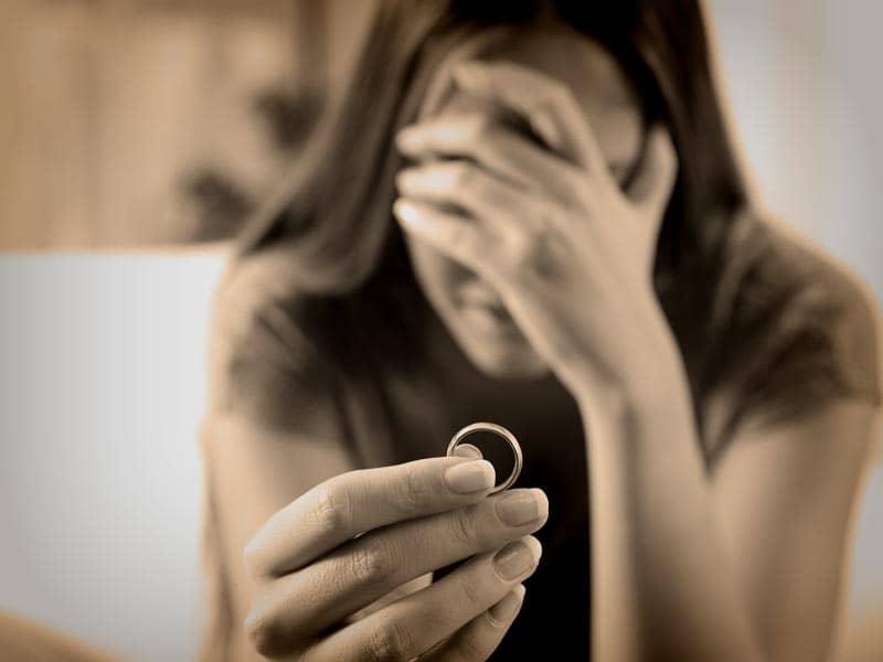 Divorced woman
