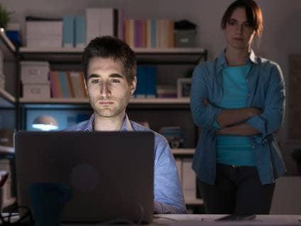 angry over computer