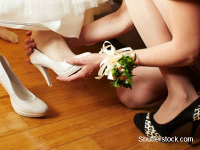 Bridesmaid Stepping In
