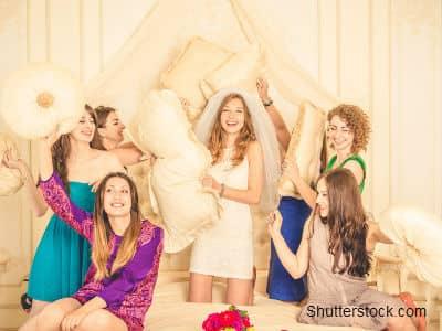 Bridesmaids at Event