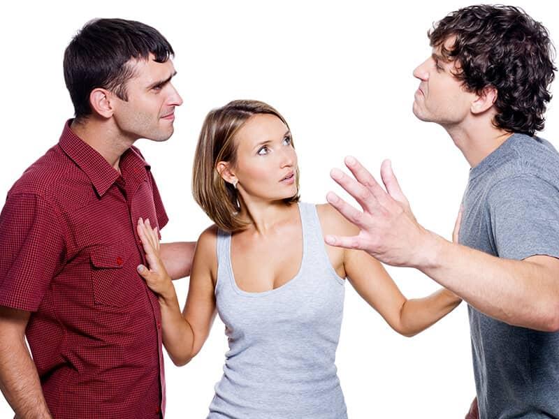 jealous men fighting