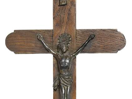 Old Wooden Crucifix