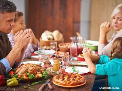 people family dinner