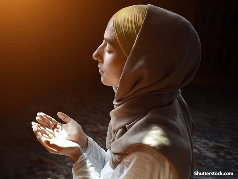 people muslim woman praying