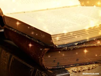 religion glowing bibles