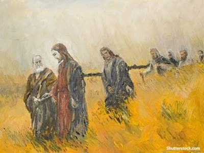 religious jesus painting