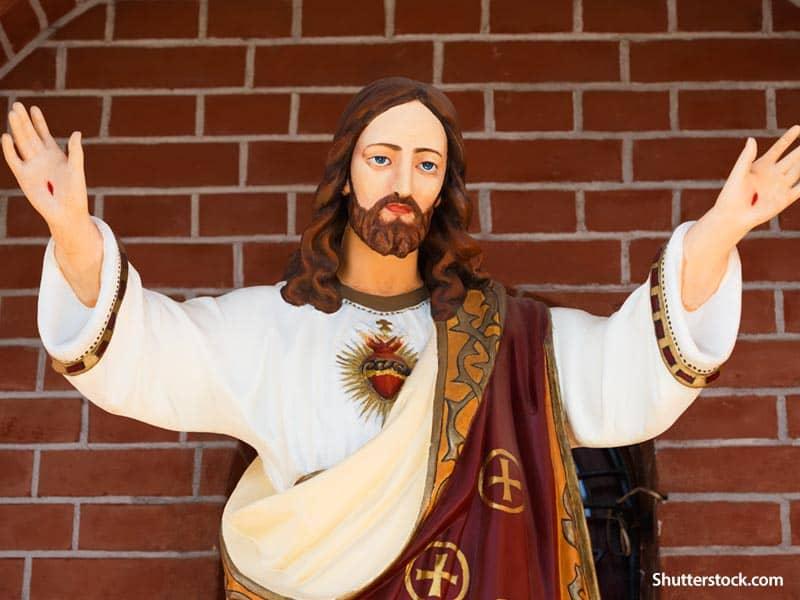 Religious Jesus praise