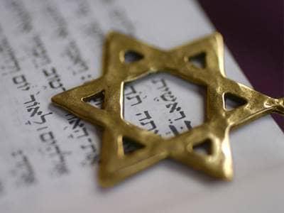 Small Jewish Star of David
