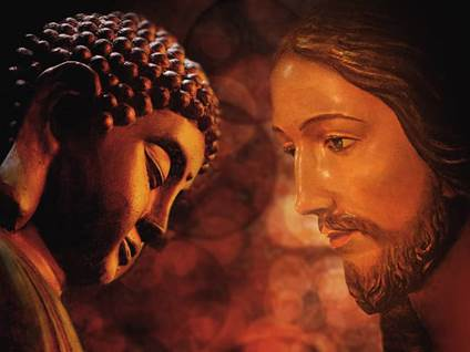 Buddha and Jesus