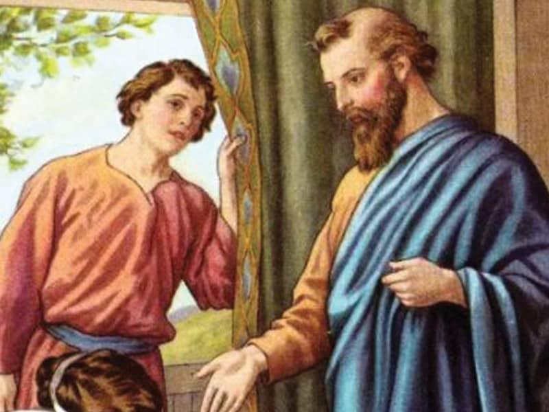 Elisha and Elijah