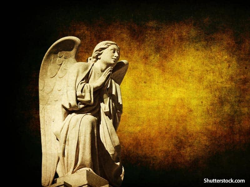 religious angel statue