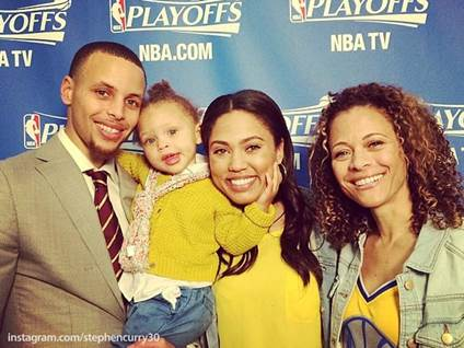 Stephen Curry, Golden State Warriors, Ayesha Curry, Riley Curry