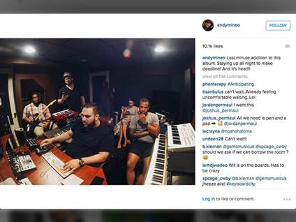 instagram pictures, top Christian instagram accounts, Andy Mineo , instgram newsfeeds to follow