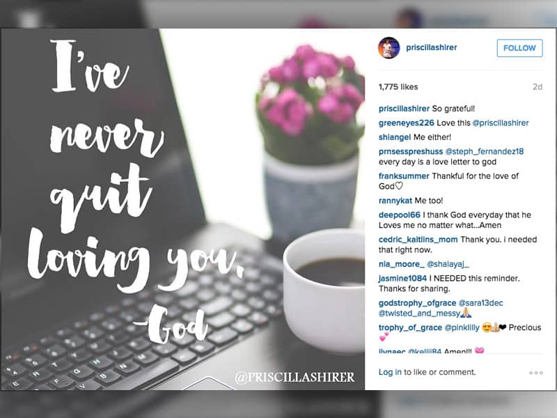 instagram pictures, top Christian instagram accounts, pricilla shirer, instgram newsfeeds to follow
