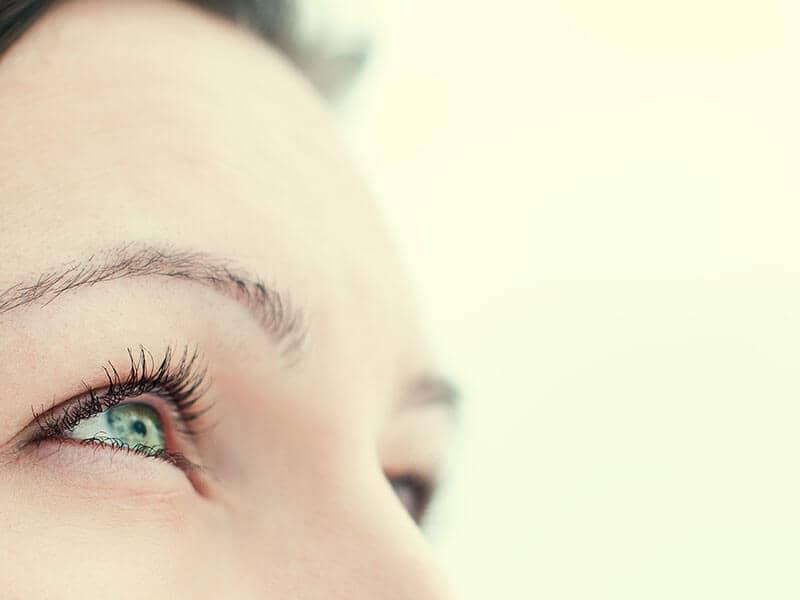 Focused eyes
