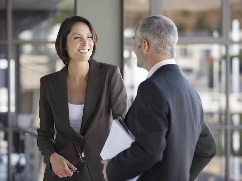 Talking to Co-Worker