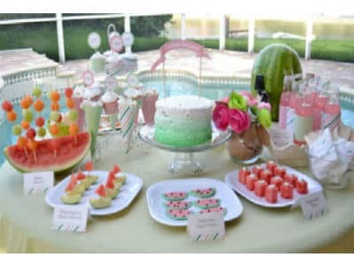 8 Summer Party Ideas